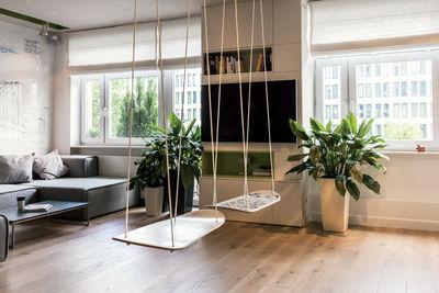 Warsaw apartment swing seats