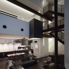 W House living room