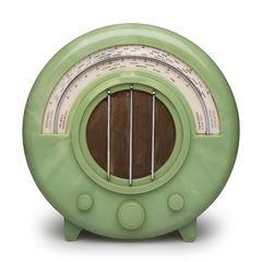 Rare green AD65 radio from Ecko.