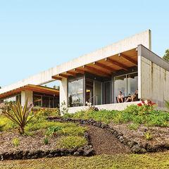 pour it on facade concrete beam roof lanai porch