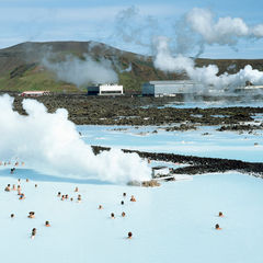 the blue lagoon iceland geothermal spa hotel water visitors