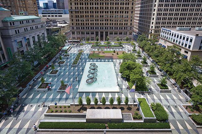 Design Award of Excellence winner Mellon Square.