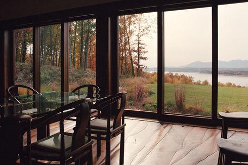 against the grain sustainable hudson new york home black walnut flooring furniture