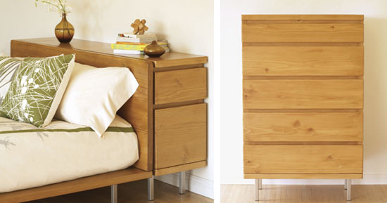 Modern Headboard With Storage - old world furnishings decor