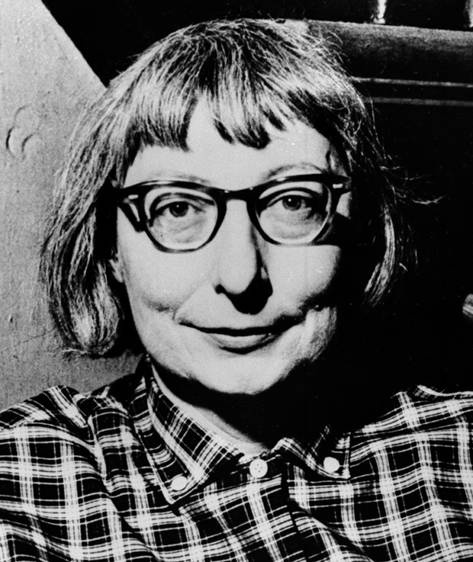 "Urban activist Jane Jacobs (1916-2006), author of the groundbreaking 1961 work ""The Death and Life of Great American CIties.""Image courtesy <a href=""http://books.simonandschuster.com/Makeshift-Metropolis/Witold-Rybczynski/9781416561255"">Makeshift Metropo"