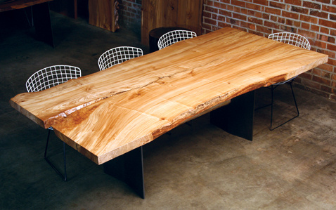 Urban Hardwoods Dining Table Chinese Elm