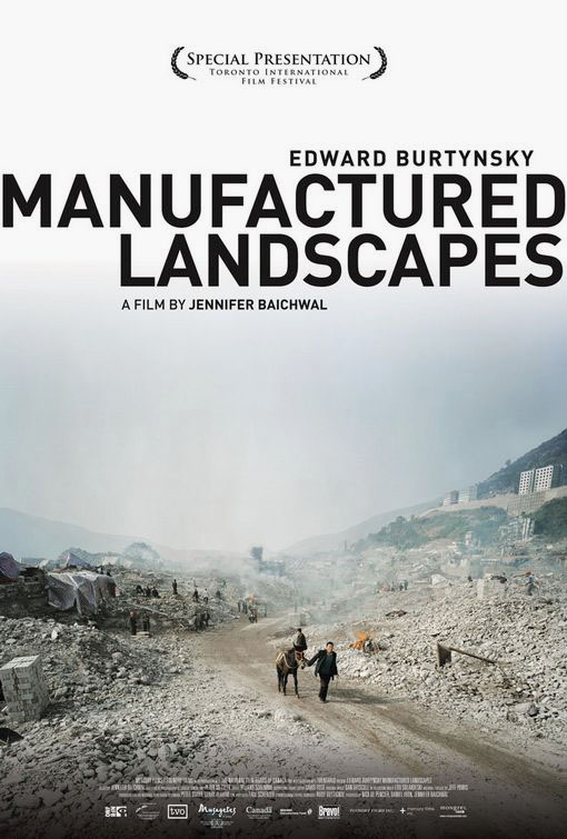 burtynsky edward manufactured landscapes poster