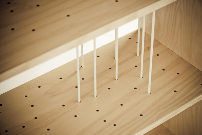 Here's a closer look at the Otto bookcase.