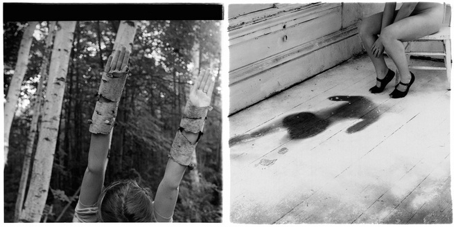 Photos by Francesca Woodman.