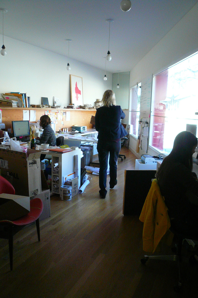 I met Bestor on a Friday morning in her architecture office, a cool triangular space on Fountain Avenue in Silver Lake.