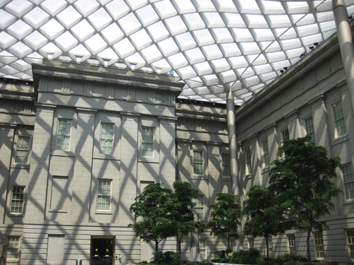 smithsonian kogod courtyard canopy horizontal
