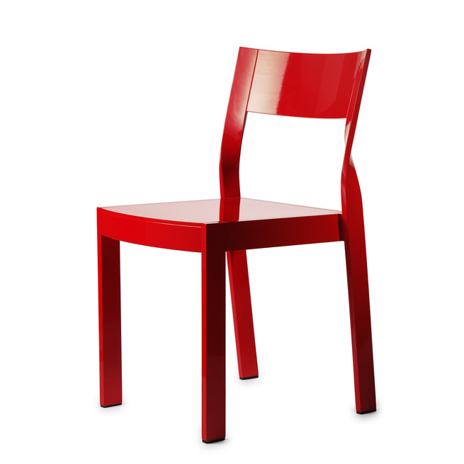 The Twist Chair, 2008, by Anna von Schewen.