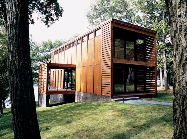 Aperture House, Moose Lake, Wisconsin