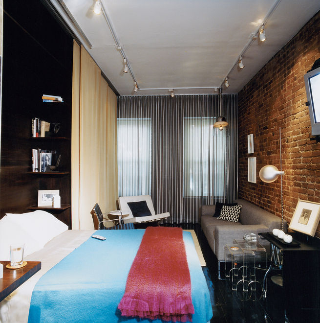 This West Village apartment faces a typical New York problem: one room ...