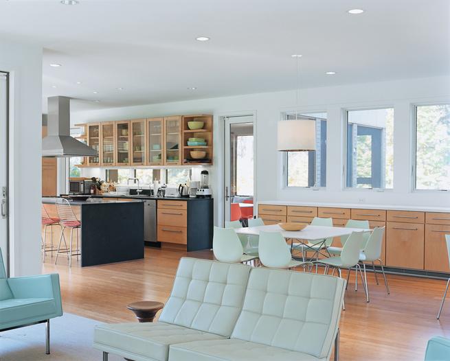 Great room in East Hampton, New York