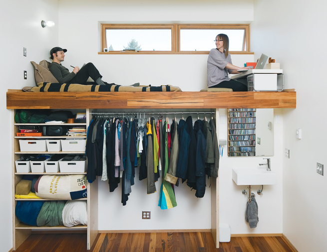 multipurpose bedroom closet workspace