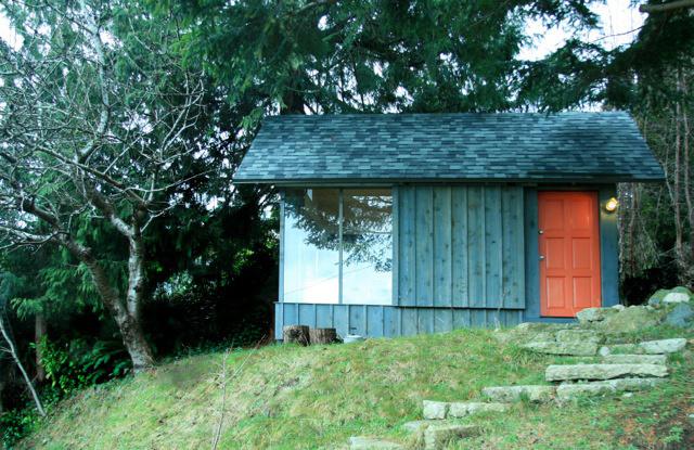 Tiny Studio Cabin by Hinterland Studio