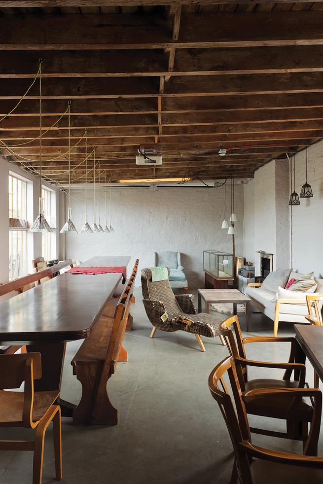 Furniture warehouse Retrouvius in London