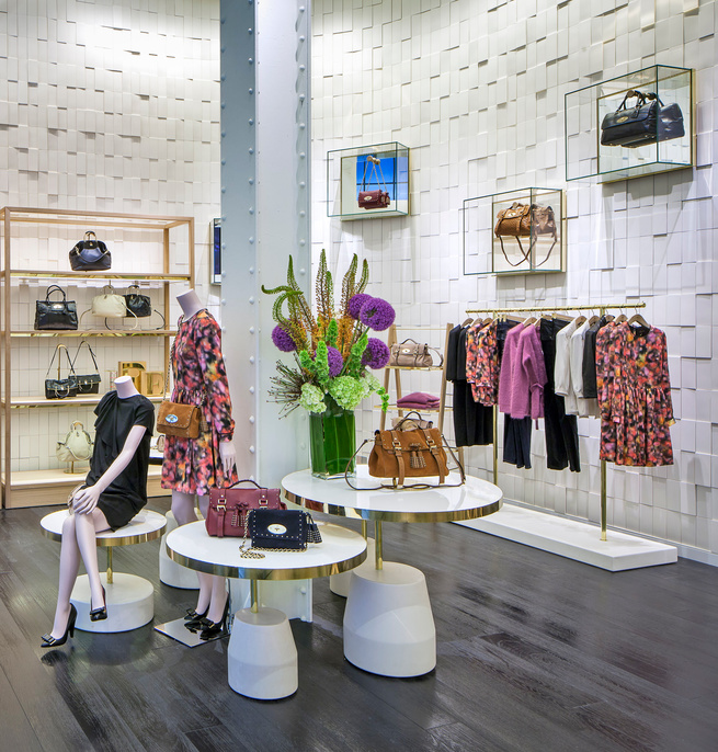 Mulberry San Francisco Store Interior