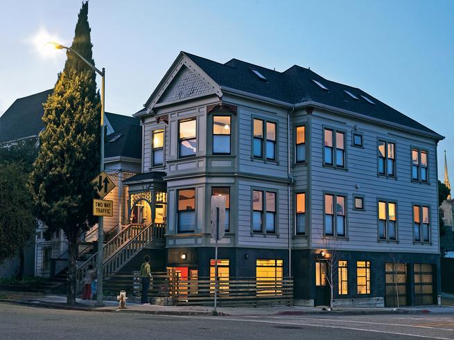 mcdonald house exterior night