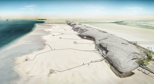 Sand Dune Clouds designed by Town Planning Design and Architecture