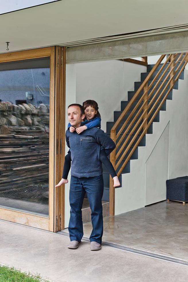Large sliding door from Timber Tech Scotland