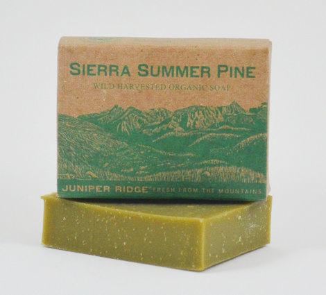 sierra summer pine bar soap