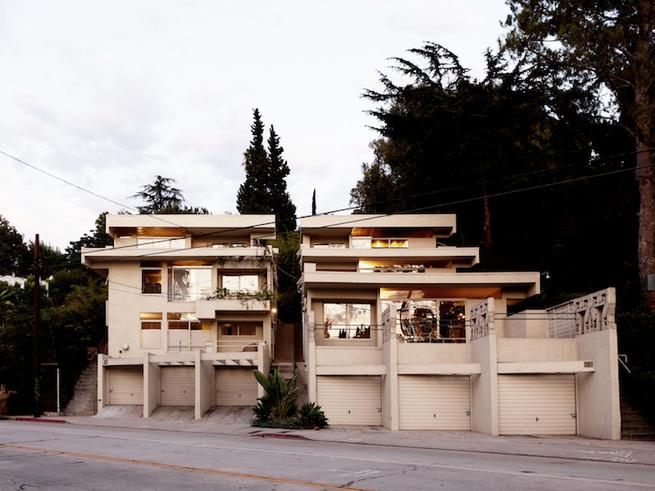 Schindler Bubeshko apartments Los Angeles