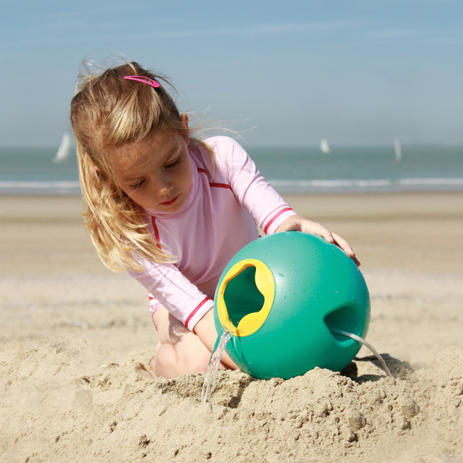 Child's water bucket for beach and bath play