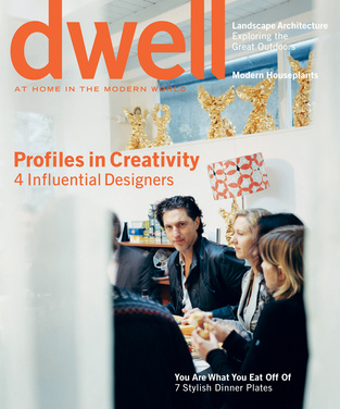 dwell cover 2006 april profiles in creativity