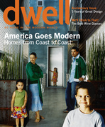 dwell cover 2005 october november america goes modern