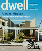 dwell cover 2007 july august always modern