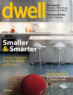 Cover of November, 2011 issue of Dwell