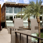 "The Safari Drive in Scottsdale, Arizona, designed by The Miller|Hull Partnership, was awarded an AIA 2010 Multifamily Housing prize for ""outstanding apartment and condominium design, both high- and low-density projects for public and private clients, that integrate the building(s) into their context, including open and recreational space, transportation options and features that contribute to livable communities."""