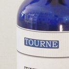 "Organic Hand Soap by Tourne. ""Tourne is our own line of handmade products. This liquid soap is made using pure essential thyme oil. It smells delicious and keeps your hands soft and moisturized."" Available at Brook Farm General Store."