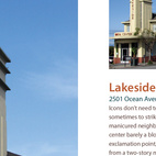 """The inclusion of the Lakeside Medical Center, an off-the-beaten track structure marked by its """"streamlined exclamation point,"""" in Cityscapes tells you all you need to know about King as a critic on the lookout not for icons but for the landmarks by which citizens navigate their city. Lakeside is a small neighborhood and this is certainly what you'll remember most about it. It's about time this retro tower, which King calls """"a cross between a tower and a marquee,"""" gets its due."""