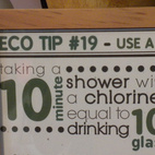 Another tip suggests using a shower filter, like on by Chanson, to reduce chlorine exposure.