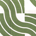Green Waves, kimono. Moriguchi Kunihiko. Plain weave silk with freehand paste-resist decoration. Kyoto, Japan, 1973 (V&A: FE.420-1992). From V&A Pattern Series II: Kimono published by V&A Publishing and Abrams Books.