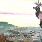 Elk Mural by Bryan Schutmaat