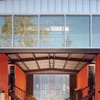 Adriance House by Adam Kalkin. Photo from Quik Build: Adam Kalkin's ABC of Container Architecture. Courtesy of Adam Kalkin.