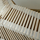 The Reef Bench from 2009 has an undulating, skeletal form.