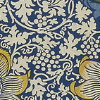 "British textile designer William Morris made a tremendous impact on decorative design just before the turn of the nineteenth century. This is ""Kennet"", 1883, for Morris & Co."