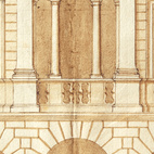 Design for a Palace, early 1540s. Image courtesy of RIBA Library Drawings and Archives Collections