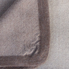 """Clean Edge. """"Very chic design, from Peru. It is made from the softest kind of  baby Alpaca wool, which actually comes from the neck area."""