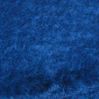 """Midnight Blue Mohair. """"This is from South Africa. It's the softest and lightest Mohair I have ever touched, and the blue is very deep but warm."""""""