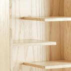 Data Modern Furnishings was founded by Ryan Richardson in the fall of 2010, after 18 months of prototyping and tweaking their products. Richardson collaborates with a team of nine woodworkers, craftsmen, and finishers to design and hand-build the company's pieces—mostly bookcases, so far—in Nashville, Tennessee. The Jeni bookcase, shown, is available at Data Modern Furnishings.    This originally appeared in Data Modern Furnishings.