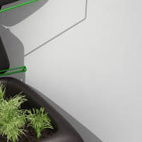 Wallflower Vertical GardenDesigned by: Haldane MartinSoaring food prices and dense urban living make Cape Town the perfect place to start a vertical edible garden. Haldane Martin brings his organic sensibility outside with this drip irrigation system.More info: haldanemartin.co.za
