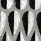 The Mod Drops arrangement of tiles has a Scandinavian sensibility.  Photo by: Diana Budds