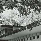 The Pardee House in Midland is an example of Dow's work with the unit blocks that would define much of his early career.