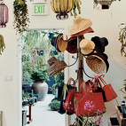 Flora Grubb Gardens' interior shop offers all manner of enticing plants.